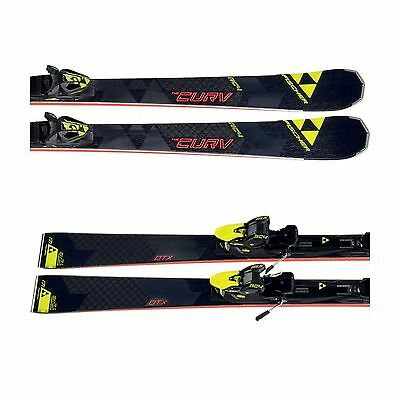 Fischer Race Carver Ski RC4 The Curv DTX RT mit Bindung Set RC4 Z12 RT NEU 2017