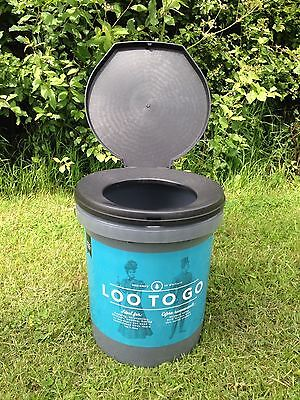 Olpro Loo To Go Toilet Camping Motorhome Camper Caravan Tent Festival Portable