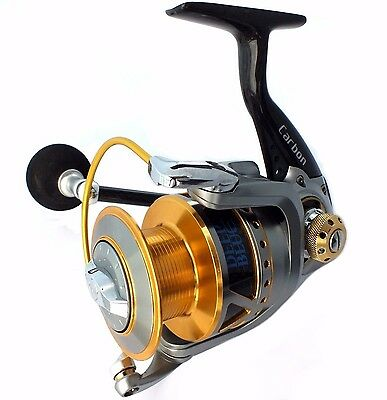 Rap5000 Light Weight Strong Carbon Fibre Spinning Fishing Reel 11 Ss Bearings