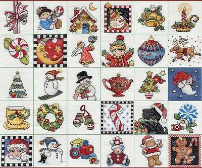 """""""Mary Engelbreit Ornaments Counted Cross Stitch Kit-2""""""""X2"""""""" 14 Count Set Of 30"""""""