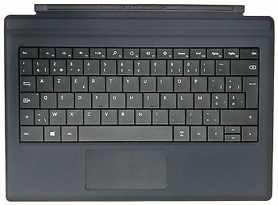 Microsoft Type Cover Black Belgian AZERTY Keyboard for Surface Pro 3