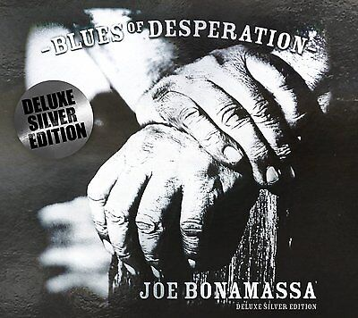 Joe Bonamassa Blues Of Desperation Deluxe Silver Edition Cd (25/03/2016)