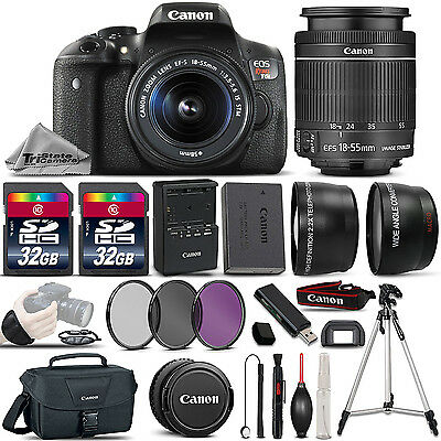 Canon EOS Rebel T6i SLR Camera + 18-55mm STM Lens + ULTIMATE Accessory Bundle