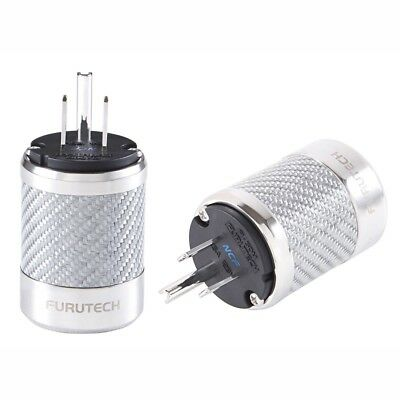 Furutech FI-50M NCF US Rhodium AC Power Connector