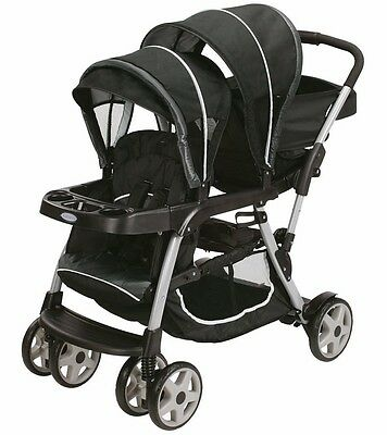 Graco 2016 Ready2Grow Click Connect LX Duo Stroller - Gotham - New!