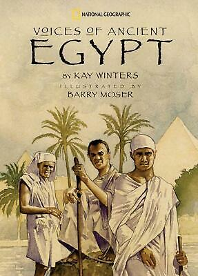 Voices of Ancient Egypt by Kay Winters (English) Paperback Book Free Shipping!