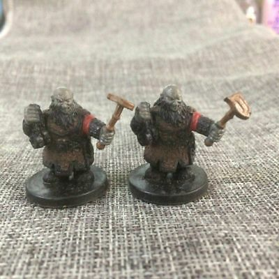 Miniature Duergar Slaver C & Karsite Fighter Prototype Dungeons & Dragons Figure
