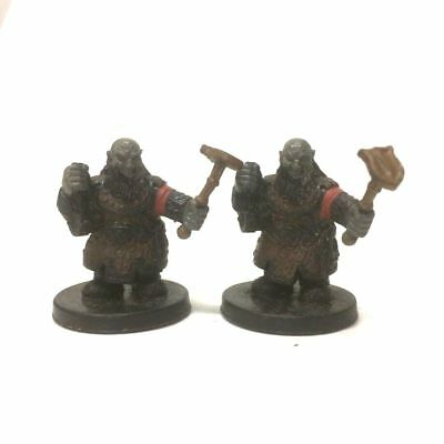 Dungeons & Dragons Miniature Duergar Slaver C & Karsite Fighter Figure Boy Toys