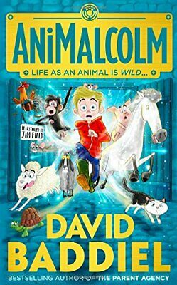AniMalcolm by Baddiel, David Book The Cheap Fast Free Post