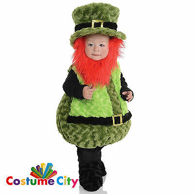 Childs Toddlers Little Leprechaun St. Patrick's Day Fancy Dress Party Costume