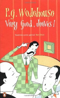 Very Good, Jeeves! by Wodehouse, P G Paperback Book The Cheap Fast Free Post