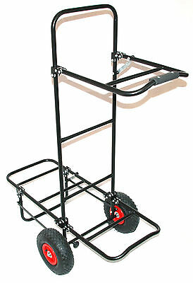 Bison Folding Fishing Seat Box Pull Trolley