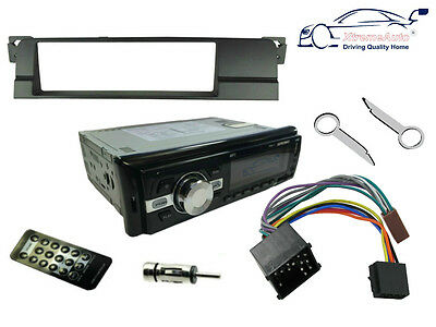BMW 3 SERIES 98-05 E46. Bluetooth Car Stereo Head Unit Radio, USB + Fascia Kit