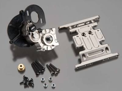 NEW Integy Center Main Gearbox w/Metal Gears Gun SCX10 C24742GUN