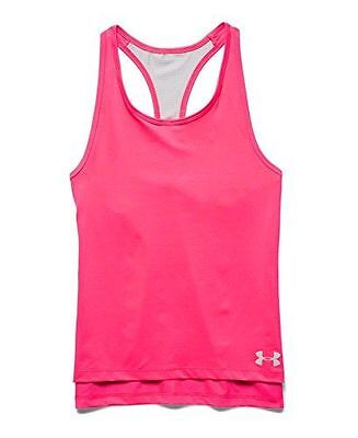 Under Armour Luna Débardeur Fille Harmony Red FR : L Taille Fabricant : NEUF