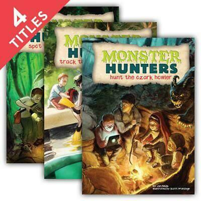 Monster Hunters Set 2 by Jan Fields (English) Library Binding Book Free Shipping