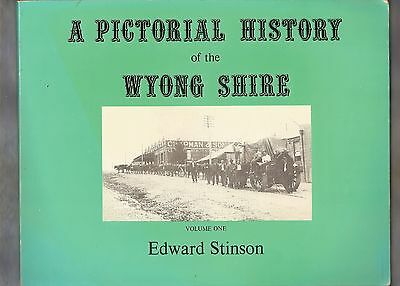 #Ww.  Volume 1 & 2 Of  Pictorial History   Books On  Wyong Shire, Nsw