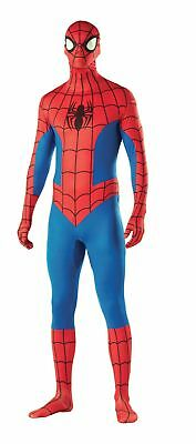 Spider-Man 2ND Skin Full Body Suit Costume Spiderman Jumpsuit Unitard Adult L
