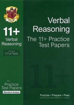 11+ Verbal Reasoning Practice Test Papers: Standard Answers (for GL & Other Tes.