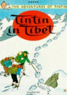 Tintin in Tibet (The Adventures of Tintin), Herge Paperback Book The Cheap Fast