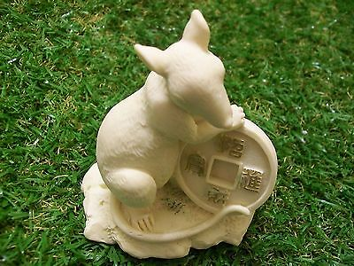 Rat Statue with coin, 90mm    120