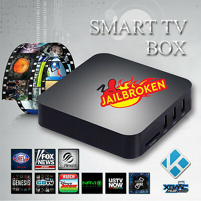 UK Google Quad Core Android 4.4 TV Box Fully Loaded Free Sports XXX