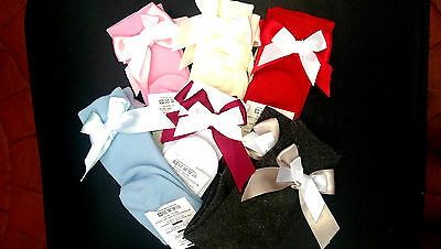 Dream Spanish Romany Coloured Double Bow Knee High Socks All Shoe Size Available