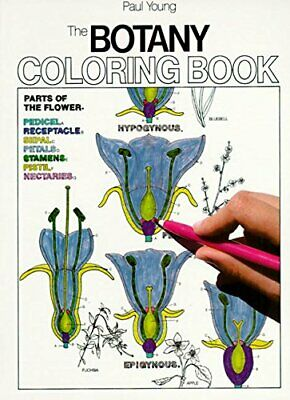 Botany Coloring Book (College Outline) by Young, Paul Hardback Book The Cheap