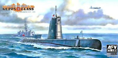 Afv Club 73513 - 1/350 USn Submarine USs Cutlass Ss478 Guppy II  - Neu