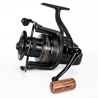 PENN Spinfisher V SSV 7500 LC LTD Limited Black Edition Karpfenrolle Long Cast