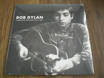 BOB DYLAN - CARNEGIE CHAPTER HALL 1961 2 x LP NEW SEALED
