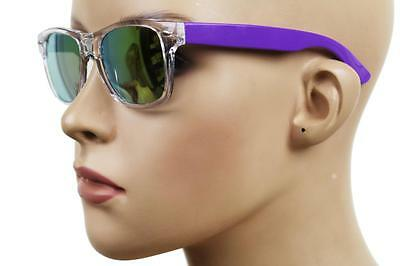 New Kid's Retro Vintage Children's Small Neon Hipster Sunglasses Purple S-1130C