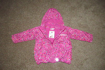 Lego Wear Girls Warm Pink Winter Coat. Age 3-4 Years. Thick Padded Puffa Jacket