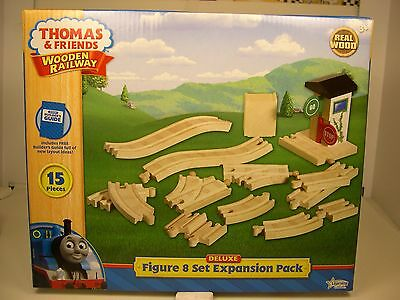 Thomas & Friends Wooden Railway - Real Wood - Deluxe Figure 8 Set Expansion Pack