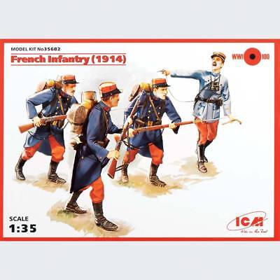 NEW ICM 1/35 French Infantry 1914 ICM35682