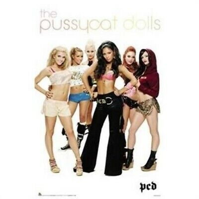 PUSSYCAT DOLLS ~ WHITE GROUP 22x34 MUSIC POSTER NEW/ROLLED!