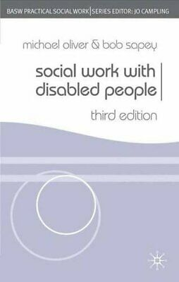 Social Work With Disabled People (British Association... by Sapey, Bob Paperback