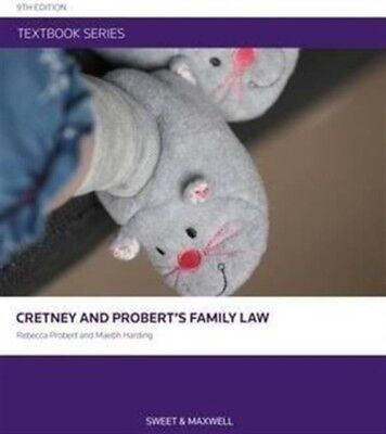 Cretney and Probert's Family Law (Textbook Seriese) (Paperback), . 9780414035287
