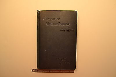 #JB20 A Manual of Machine Drawing and Design Book by Low &  Bevis 1903 EDITION