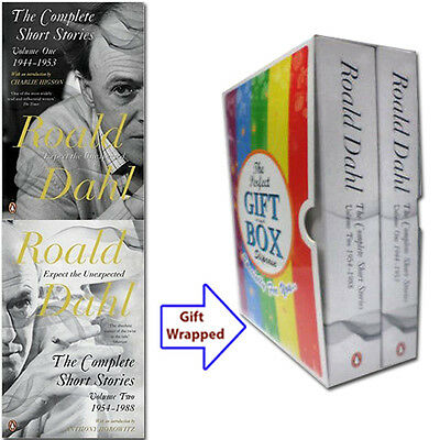 The Complete Short Stories 2 Books Collection By Roald Dahl Gift WrappedSlipcase