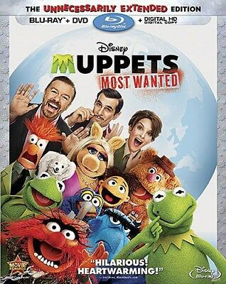 Muppets: Most Wanted [New Blu-ray] With DVD, Widescreen, 2 Pack, Ac-3/Dolby Di
