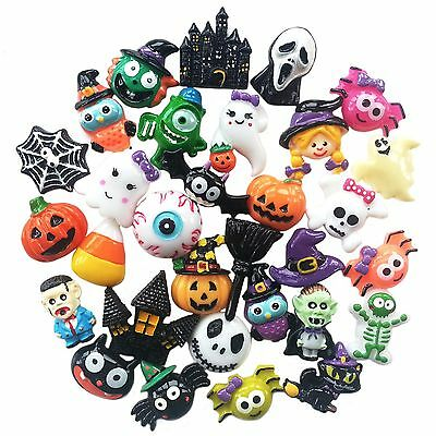 HALLOWEEN  Resin Flatback Cabochon Embellishments for Decoden Craft Card Making