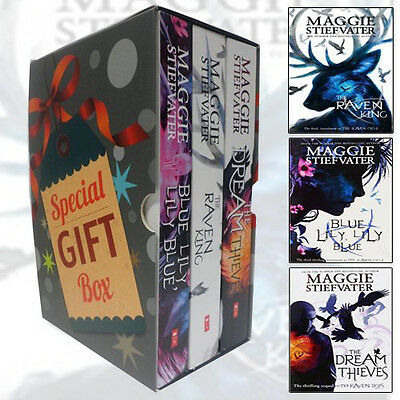 Maggie Stiefvater Collection Raven Cycle Series 3 Books Set Gift WrappedSlipcase
