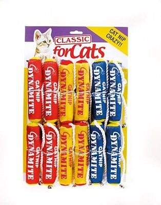 Classic For Cats Catnip Dynamite Sticks With Bell Catnip Cat Kitten Toys