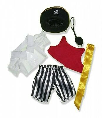 """Pirate Outfit #598410 fits 12"""" Pink Moose animals and most Webkinz, Shining Star"""