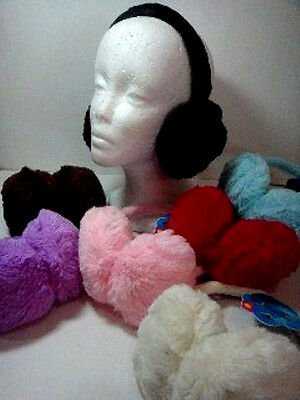Children's Ear Muffs, Adjustable,  Plush, Soft, Warm, Great Item!