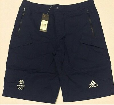 """Player Issue GB Rugby 7's Cargo Shorts, Rio 2016 Olympics, Very Rare, 28"""" BNWT."""
