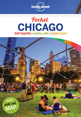 Lonely Planet POCKET GUIDE CHICAGO (Travel Guide) - BRAND NEW 9781741799026