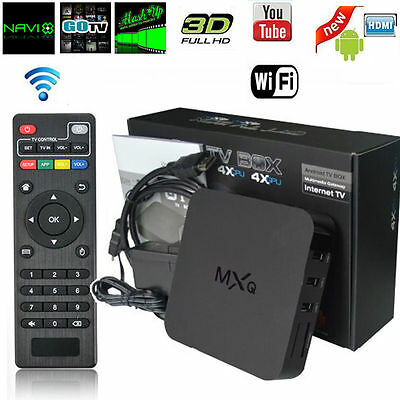 MXQ S805 Smart TV BOX Android 4.4 Quad Core 1G+8G WIFI HDMI 1080P Media Player