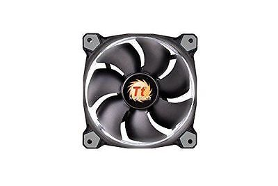 Thermaltake Ventilateur PC 120mm Riing 12 LED blanc [Noir] - Thermaltak NEUF